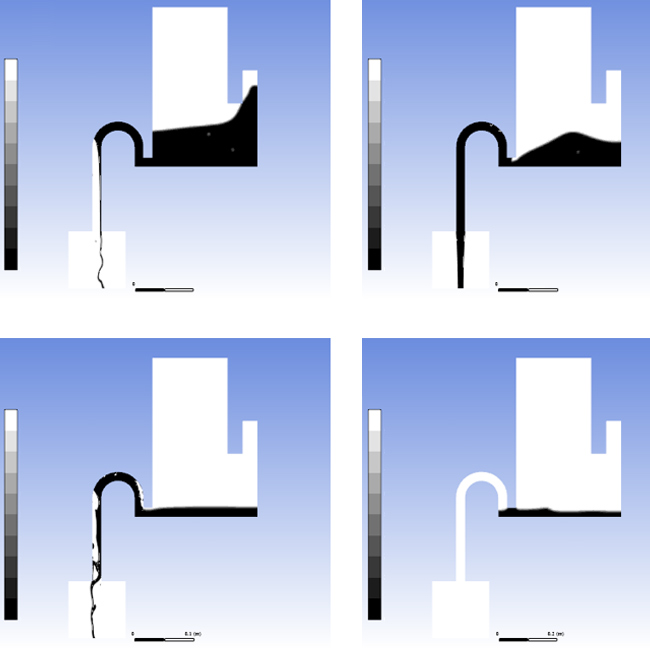 Моделирование течений многокомпонентных сред