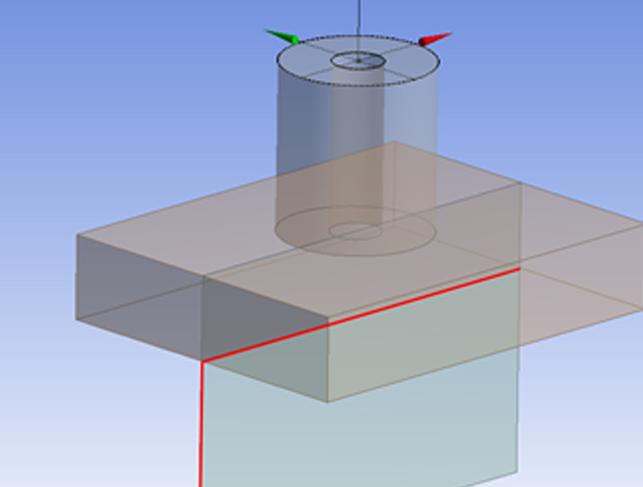 Геометрический препроцессор ANSYS DesignModeler