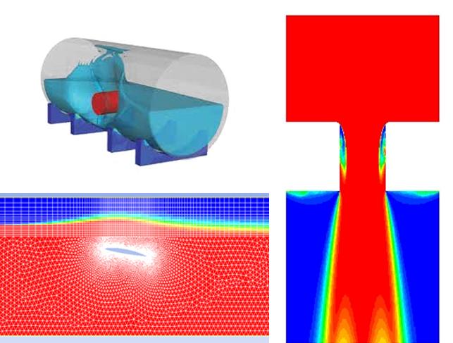 Моделирование многофазных течений. Фазовые переходы
