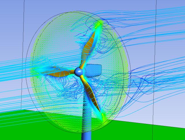 Моделирование аэродинамики вращающихся объектов
