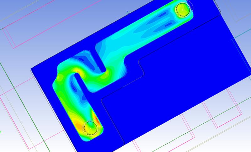 Моделирование жидкостного охлаждения электронного устройства в ANSYS Icepak