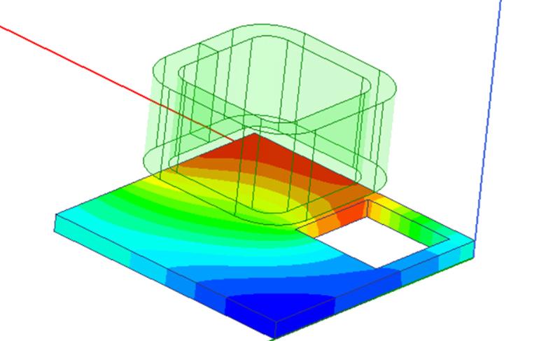 Сопряженный электротепловой расчет на примере модели катушки в ANSYS AEDT Maxwell и Icepak