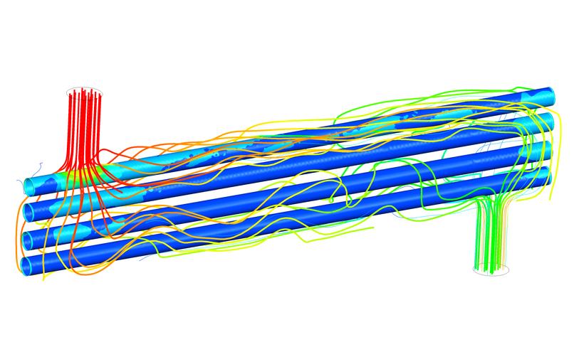 Моделирование гидрогазодинамики и теплообмена в энергетической отрасли