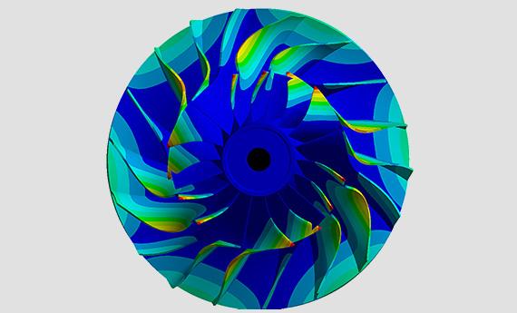 Моделирование газодинамических процессов в турбомашиностроении