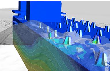 Моделирование гидродинамики в судостроении