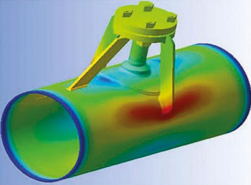 Анализ прочности в нефтегазовой отрасли