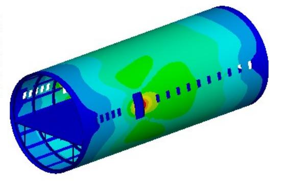 Анализ прочности в авиакосмической отрасли