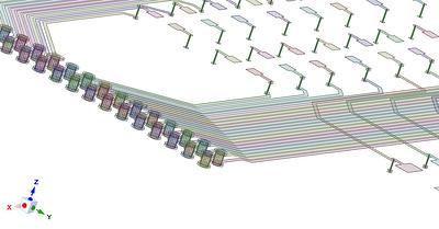 Армирующие оболочечные и балочные элементы при моделировании печатной платы